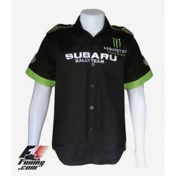 Chemise Subaru Racing Team rallye