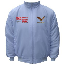 Blouson Honda Team Gold Wing moto couleur blanc