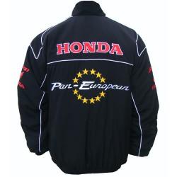 Blouson Honda Team Pan-European moto couleur noir