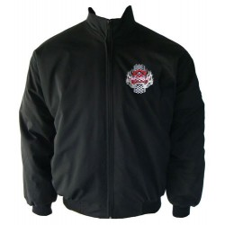 Blouson Chevrolet Team Racing sport automobile couleur noir