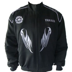 Blouson Yamaha Team Dragstar moto couleur noir