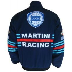 Blouson Lancia Team Martini Racing sport mécanique couleur bleu
