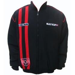 Blouson Dodge Challenger Team sport mécanique couleur noir