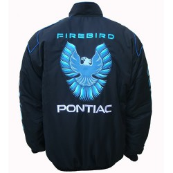 Blouson Pontiac Team Firebird sport mécanique couleur noir