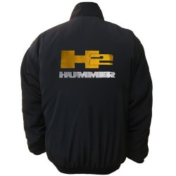 Blouson Hummer Team H2 sport mécanique couleur noir
