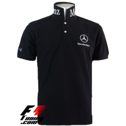 Polo Mercedes Team formule-1 noir