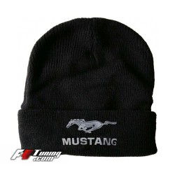 Bonnet Ford Mustang noir