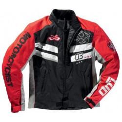 Difi veste courte Bullet noir/rouge