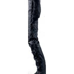 Lacets Pantalon Jean Texas Noir