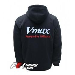 Hoodie YAMAHA VMAX sweat à capuche zippé en cotton molletonné