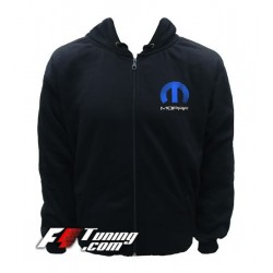 Hoodie MOPAR sweat à capuche zippé en cotton molletonné