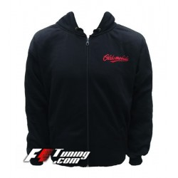 Hoodie OLDSMOBILE sweat à capuche zippé en cotton molletonné