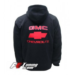 Hoodie GMC sweat à capuche zippé en cotton molletonné