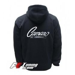 Hoodie CAMARO sweat à capuche zippé en cotton molletonné