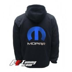 Hoodie MOPAR sweat à capuche zippé en cotton molletonné