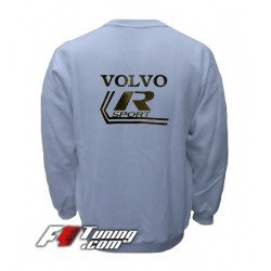 Pull VOLVO sweat en cotton molletonné
