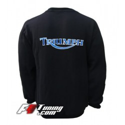 Pull TRIUMPH sweat en cotton molletonné