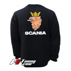 Pull SCANIA sweat en cotton molletonné