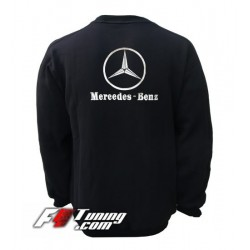 Pull MERCEDES sweat en cotton molletonné