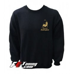 Pull LAMBORGHINI sweat en cotton molletonné