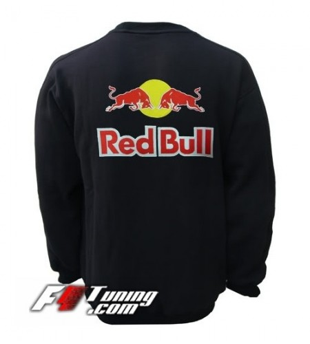 Pull RED BULL sweat en cotton molletonné