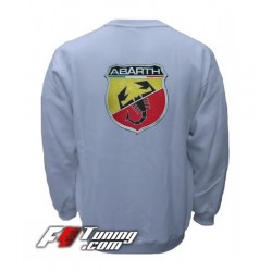 Pull ABARTH sweat en cotton molletonné