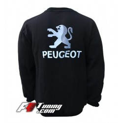 Pull PEUGEOT sweat en cotton molletonné