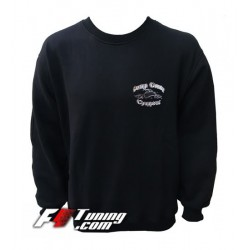 Pull ORANGE COUNTY CHOPPERS sweat en cotton molletonné