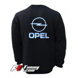 Pull OPEL sweat en cotton molletonné