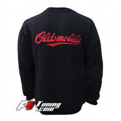 Pull OLDSMOBILE sweat en cotton molletonné