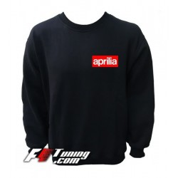 Pull APRILIA sweat en cotton molletonné