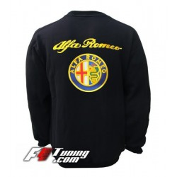 Pull ALFA ROMEO sweat en cotton molletonné