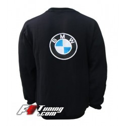 Pull BMW sweat en cotton molletonné