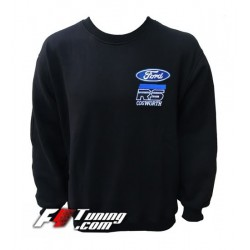 Pull FORD COSWORTH sweat en cotton molletonné