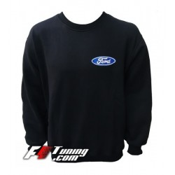 Pull FORD sweat en cotton molletonné