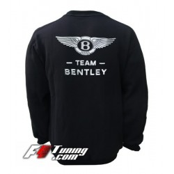 Pull BENTLEY sweat en cotton molletonné