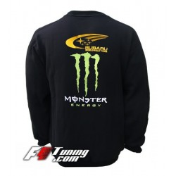 Pull SUBARU MONSTER sweat en cotton molletonné