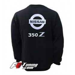 Pull NISSAN sweat en cotton molletonné