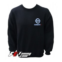 Pull NISSAN NISMO sweat en cotton molletonné