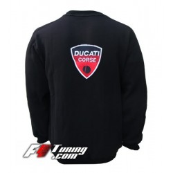 Pull DUCATI sweat en cotton molletonné