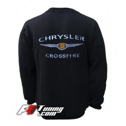 Pull CHRYSLER sweat en cotton molletonné