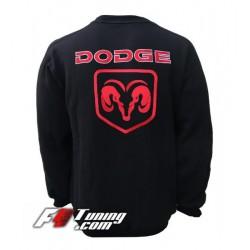 Pull DODGE sweat en cotton molletonné