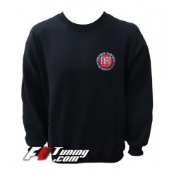 Pull FIAT sweat en cotton molletonné