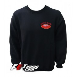 Pull MOTO GUZZI sweat en cotton molletonné