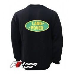 Pull LAND ROVER sweat en cotton molletonné