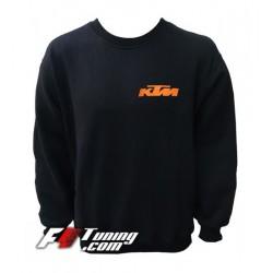 Pull KTM sweat en cotton molletonné