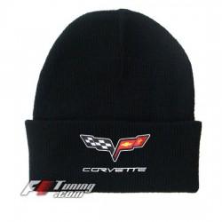 Bonnet Corvette noir