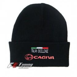 Bonnet Cagiva noir