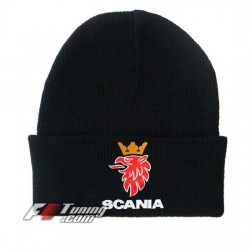 Bonnet Scania noir