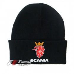 Bonnet Scania noir